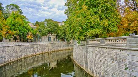 Découvrir la ville de Nîmes