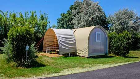 Hébergement en Camping en Camargue