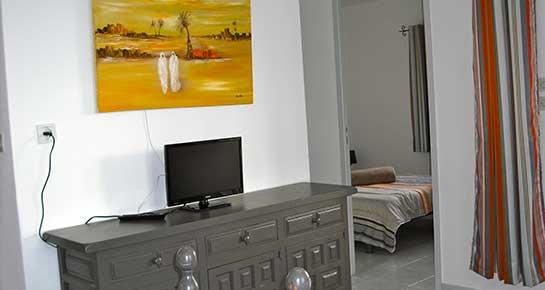 Location d'une maisonette avec télé en provence