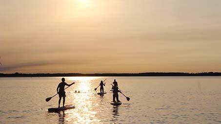 Faire du sport nautique en Camargue