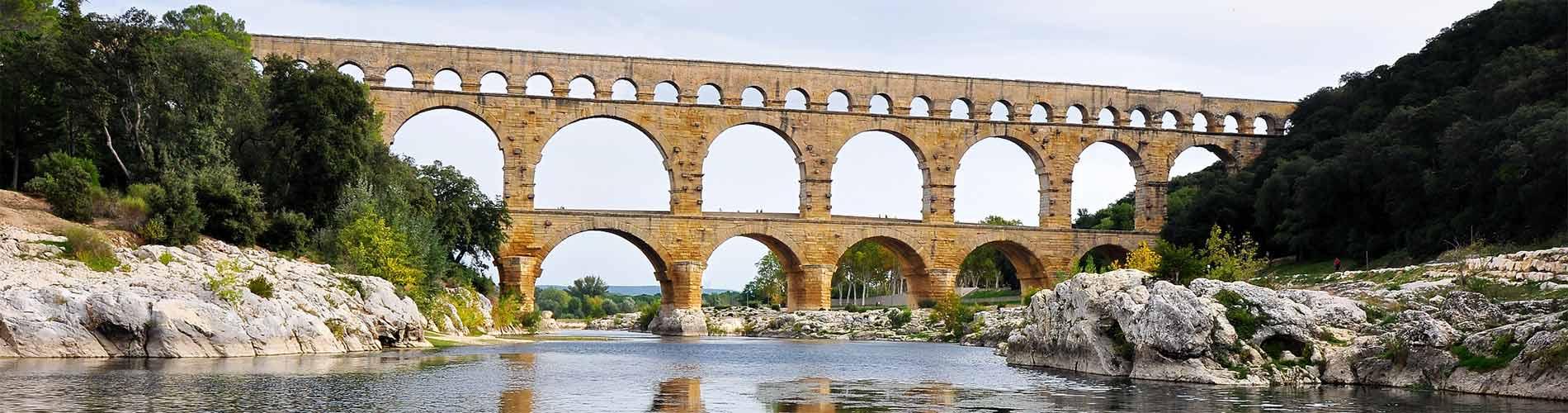 Vacances au Pont du Gard