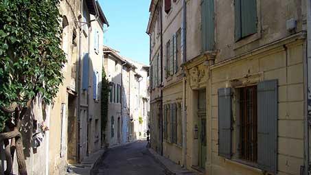 Visiter les rues de saint remy de provence