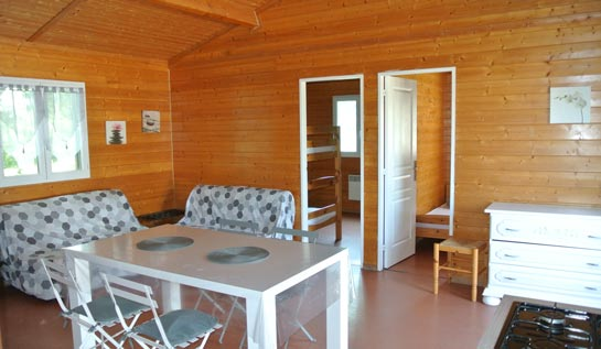 camping chalet 3 personnes carmargue