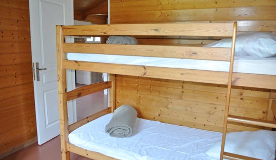 chalet 3 personnes camping camargue
