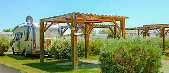 emplacement camping Camargue