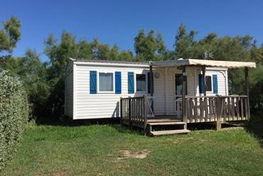 Camping avec location climatisée en camargue