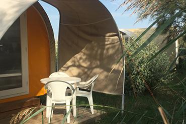 camping avec location pour 2 personnes dans les bouches du rhone