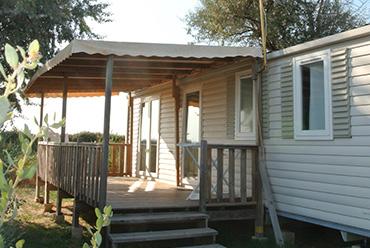 camping avec mobil-home premium en camargue