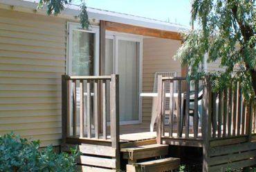 camping mobil-home pour famille en normandie