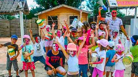 camping pour enfants Camargue