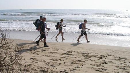 camping avec randonnées sur les plages de la manche