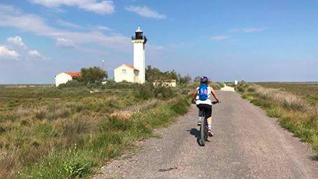 camping pour vélo en bord de mer manche